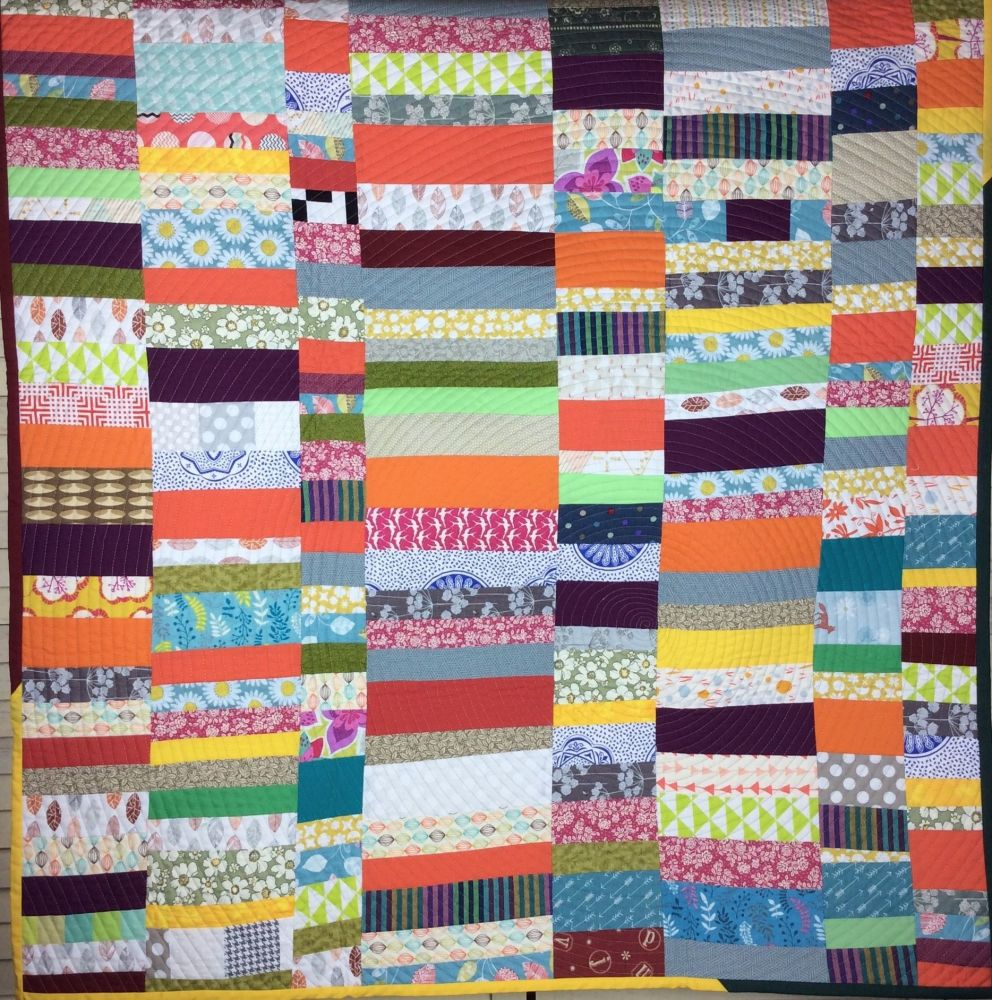 A Bit of Everything Scrappy Quilt