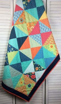 Child's Quilt - Moda - Block Party Layer Cake