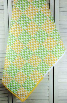 Baby Quilt - Je Ne Sais Geometric