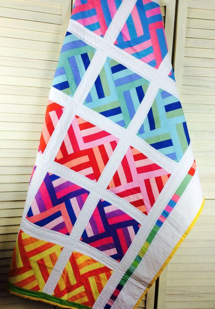 Robert Kaufman Bright Palette Lap Quilt
