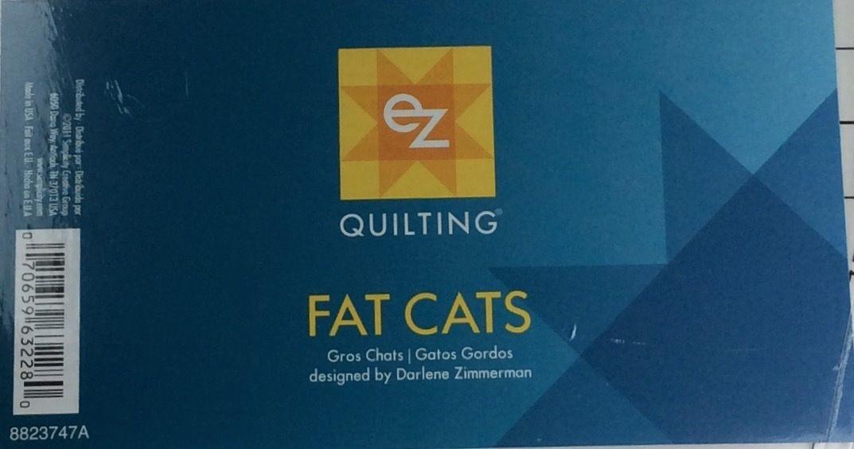 EZ Simplicity Quilting Fat Cats Template