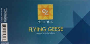 EZ Simplicity Quilting Flying Geese Template