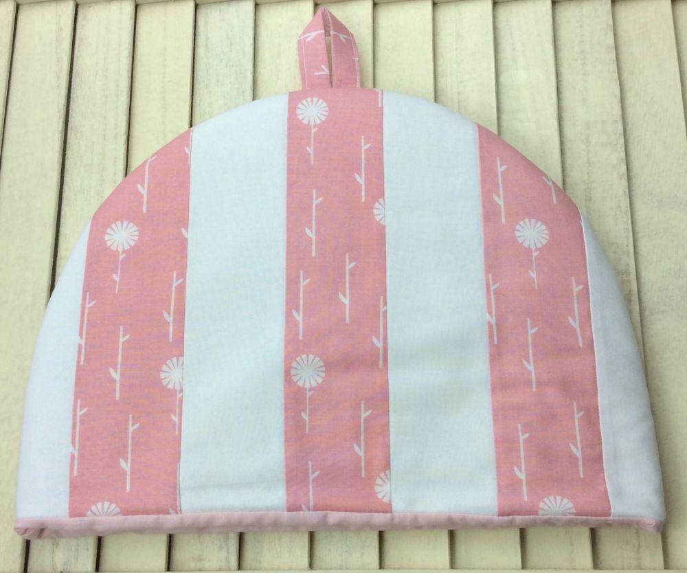 Tea Cosy - September Blue - Pink