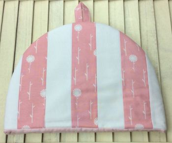 Tea Cosy - September Blue - Pink