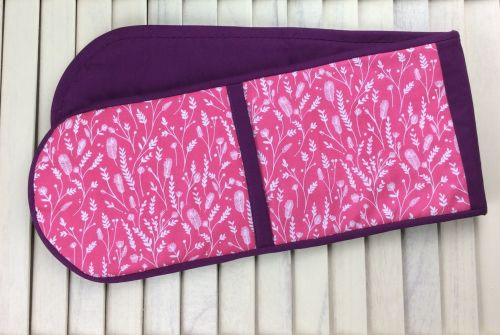 Oven Gloves (Cuckoo's Calling Pink)