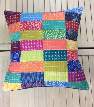 Blueberry Park Bright Spectrum Cushion (B)