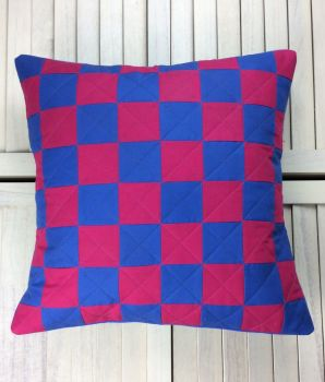 Make It Simpler Quilted Patchwork Cushion