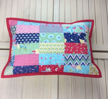 Colour Burst Scrappy Cushion (Strips)