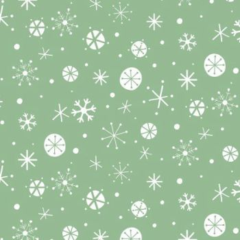 Dashwood Studio - Christmas Wish (Green) - Fabric on the bolt