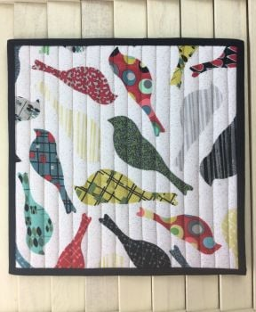 Mid Mod Bird Cream Place Mat