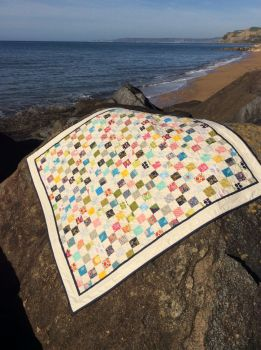 Postage Stamp Baby Quilt