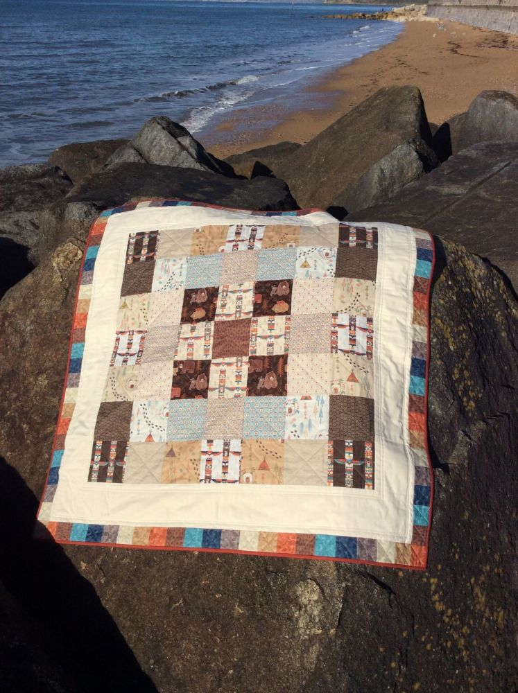 Big Bear, Little Bear Baby Quilt