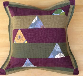 Quilted Figment Oxford Envelope Cushion