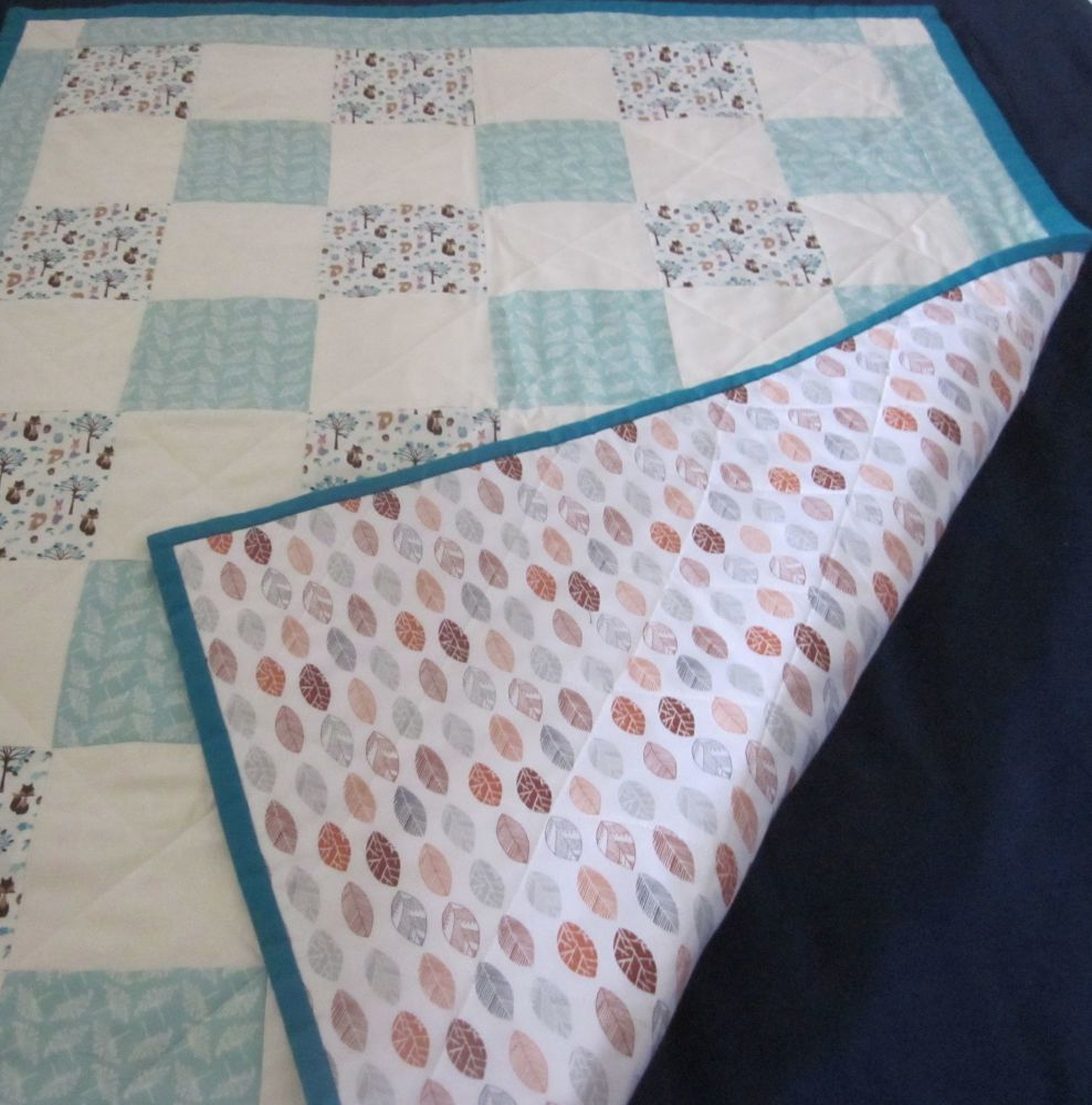 Foxy Baby Quilt
