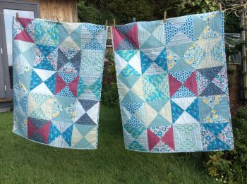Similar But Not The Same Patchwork Baby Quilts
