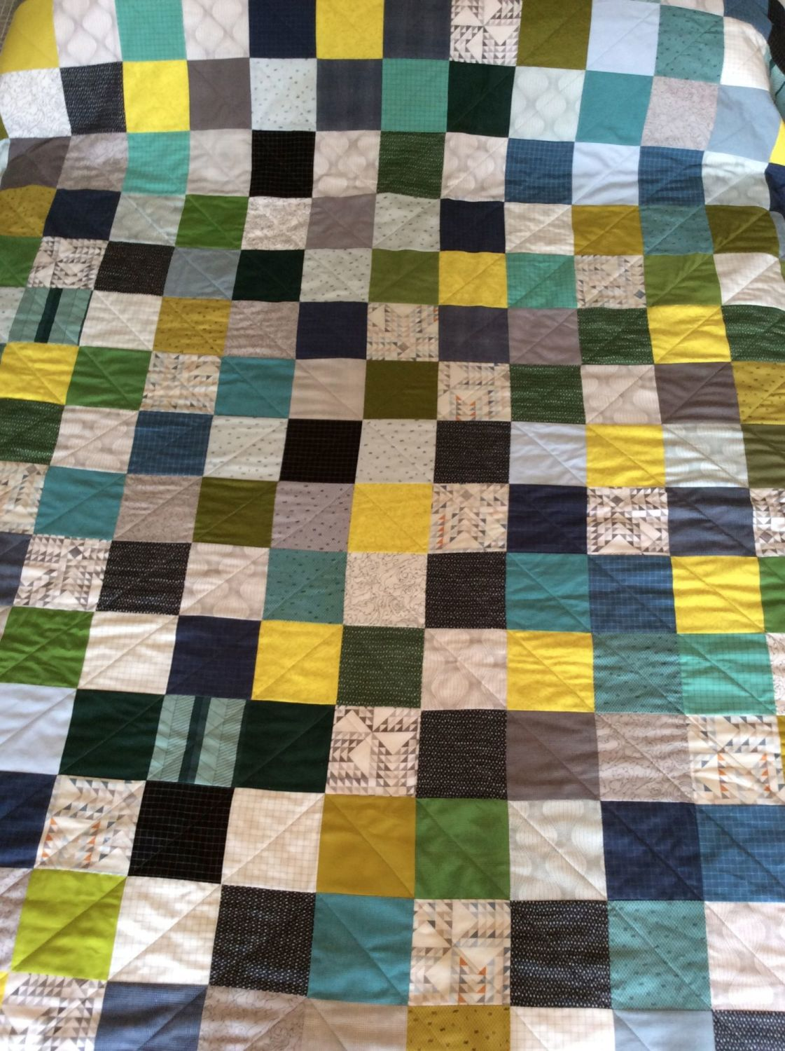 Studio Stash Wedding Quilt