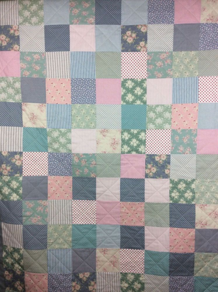 Summer Fair Lap Quilt