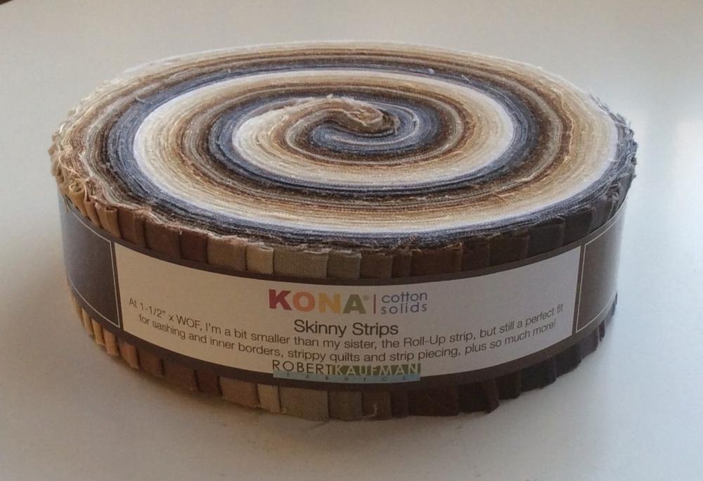 Robert Kaufman - Kona Cotton - Neutral Skinny Strips