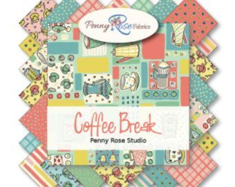 "Penny Rose Fabrics - Coffee Break 5"" Stacker"