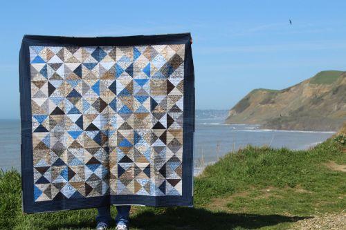MicroLife Textures Patchwork Quilt
