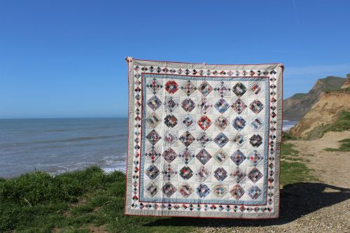 Scrappy Nine Patch Quilt