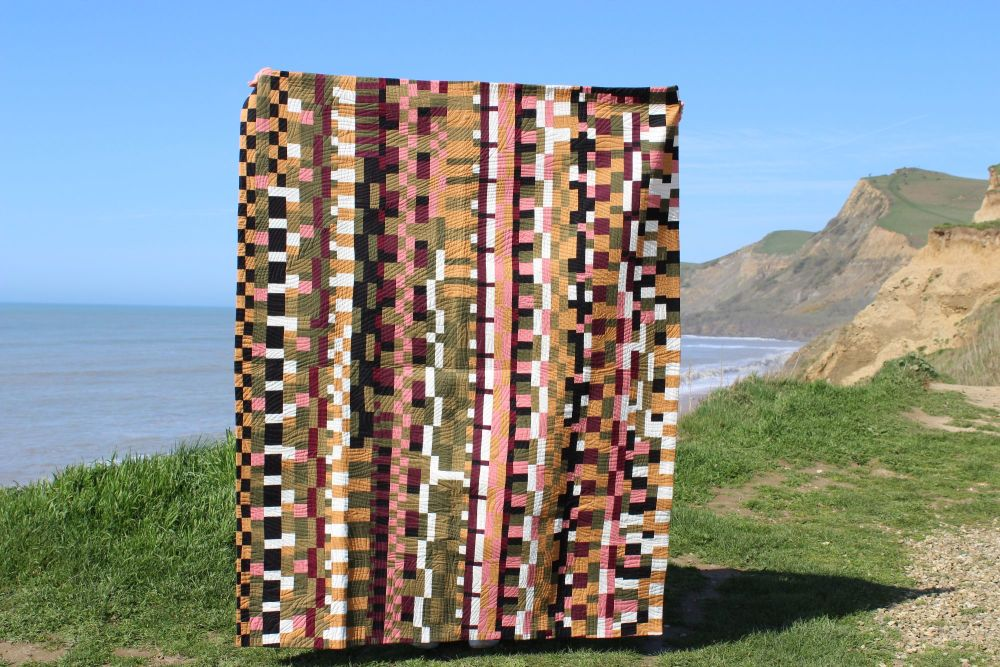Organised Chaos Patchwork Quilt