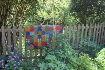Simple Marks Baby Quilt