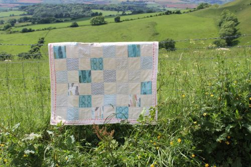 Baby Quilt - Moda - Nomad Layer Cake (Light)
