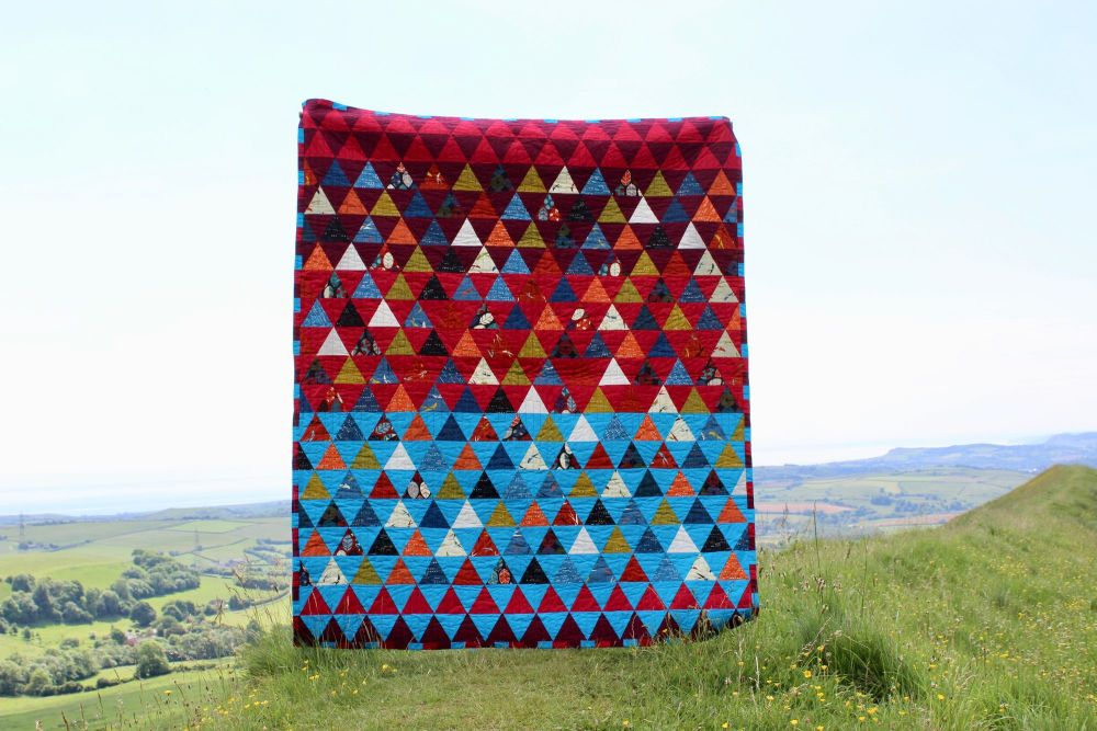 Triangles Within Triangles Quilt