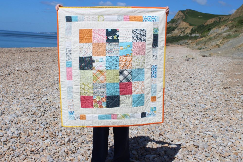 Baby Quilt - Lucy's Crab Shack (Moda)