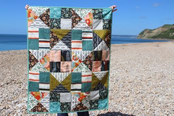 Baby Quilt - Moda - Nomad Layer Cake