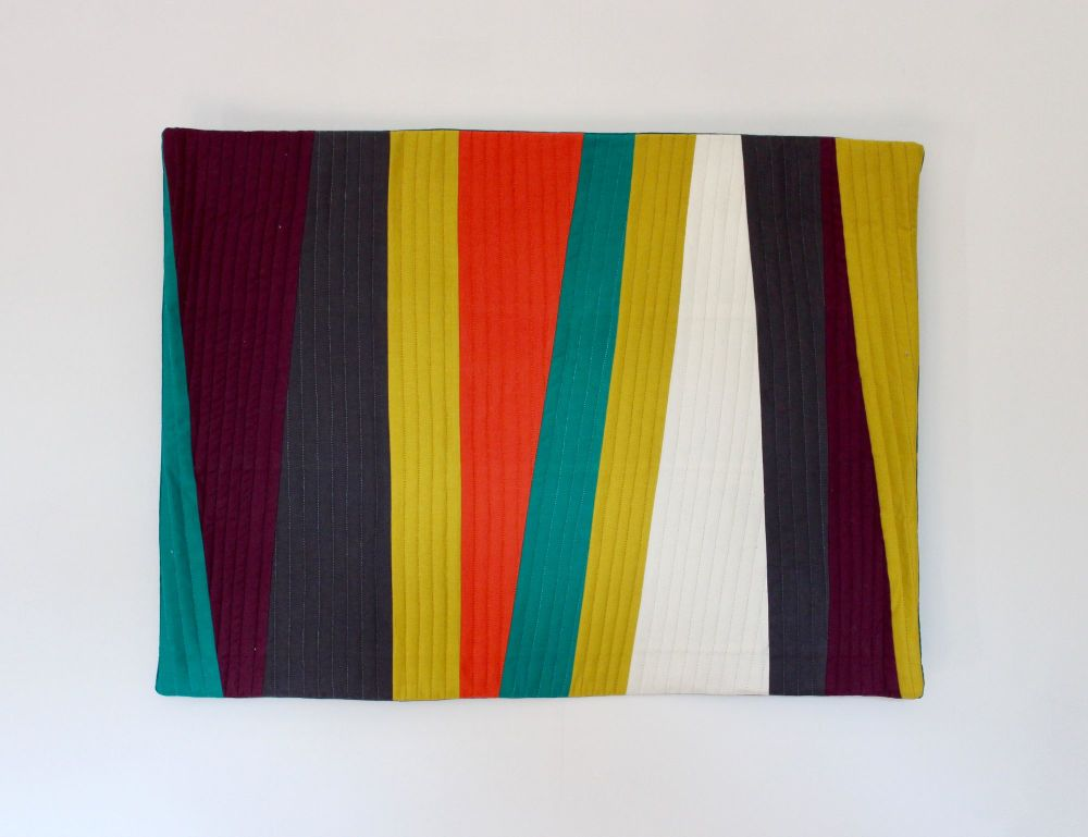 Colour Burst Quilted Wall Hanging