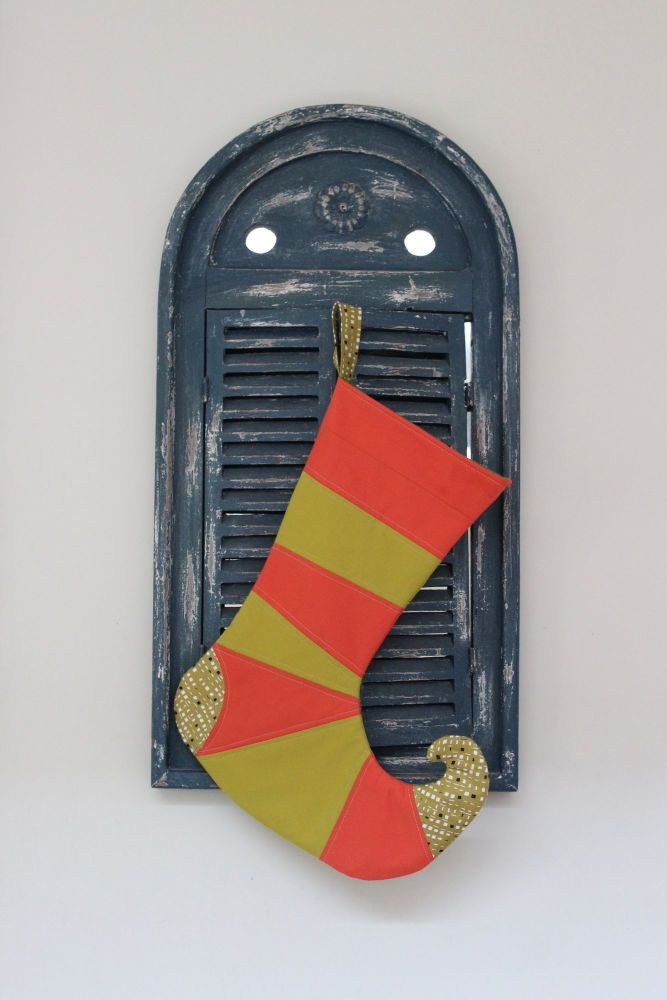 Curly-Toed Elf Christmas Stocking