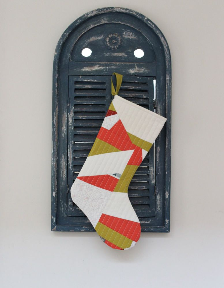 Abstract Christmas Stocking