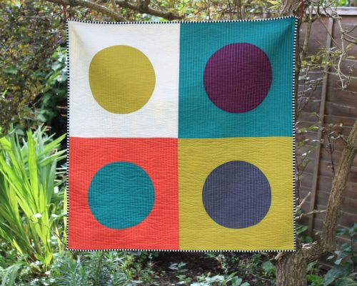 Dotty Baby Quilt/Play Mat/Wall Hanging