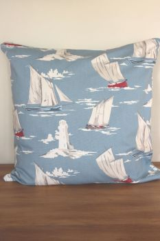 Dinghies Cotton Zippered Cushion
