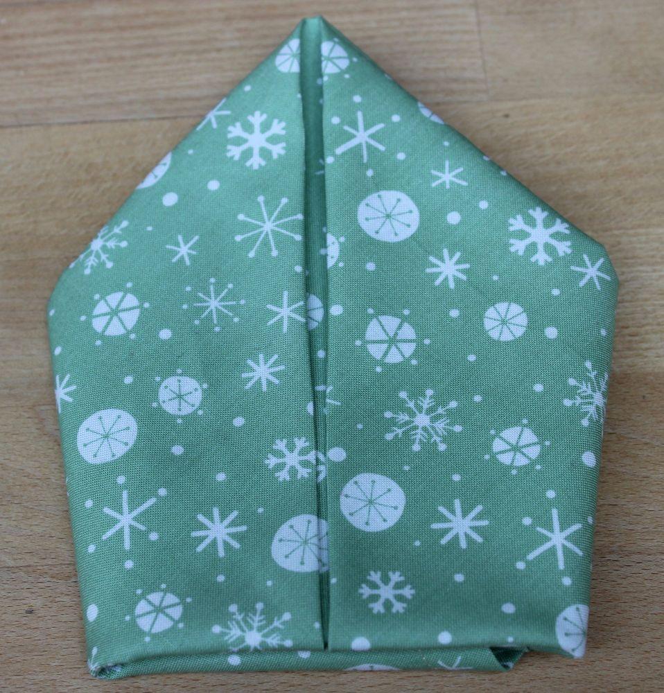 Set of Eight Christmas Wish Napkins