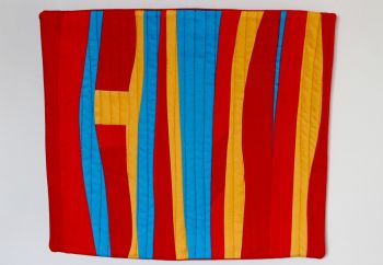 The Colour of Flames Quilted Wall Hanging (2)