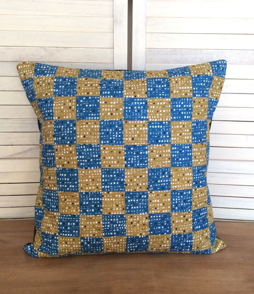 New Horizons Quilted Patchwork Envelope Cushion