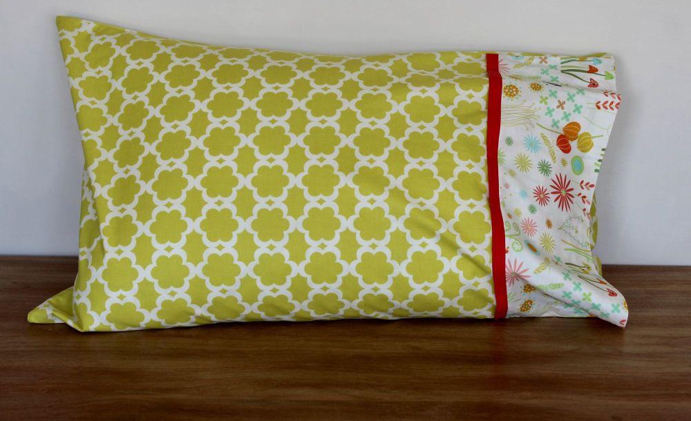 Single Springtime Pillow Case