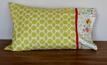 Single Springtime Pillow Case