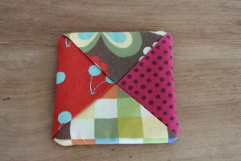 Avant Garden Folded Fabric Coaster(1)