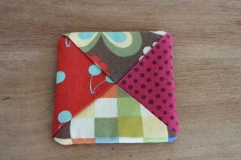 Avant Garden Folded Fabric Coaster(1)