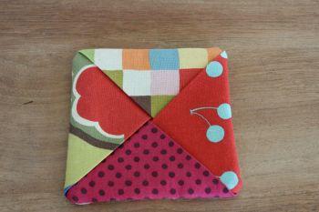 Avant Garden Folded Fabric Coaster(2)