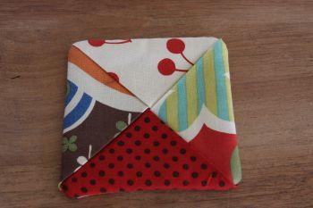 Avant Garden Folded Fabric Coaster(3)