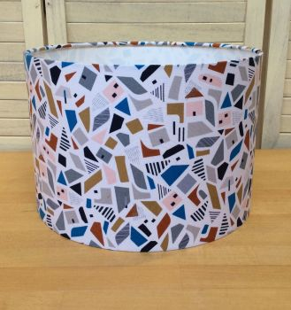 New Horizons 30 cms Drum Lampshade