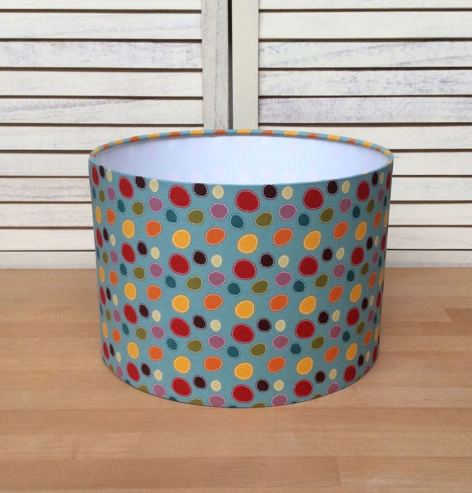 Dotty 30 cms Drum Lampshade
