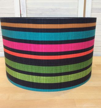 Marine Stripes 40 cms Drum Lampshade