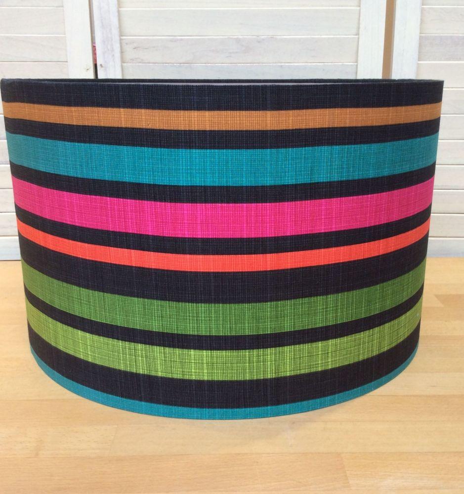 Marine Stripes 40 cms Drum Lampshade