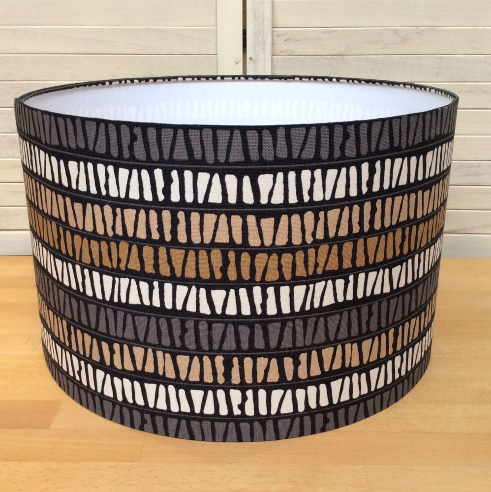 Mochachino 40 cms Drum Lampshade
